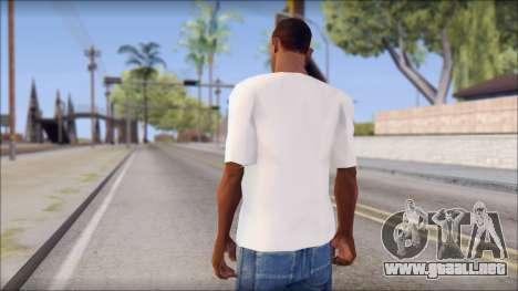 Macbeth T-Shirt para GTA San Andreas segunda pantalla