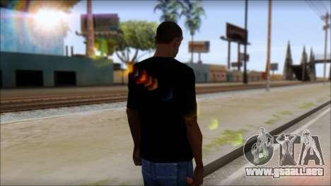DM T-Shirt Drogerie Market para GTA San Andreas segunda pantalla