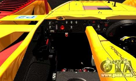 Porsche RS Spyder Evo 2008 para vista lateral GTA San Andreas