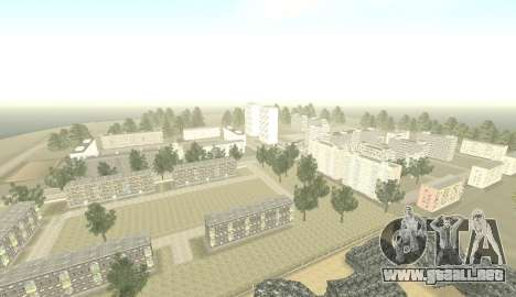 Russian Map 0.5 para GTA San Andreas segunda pantalla