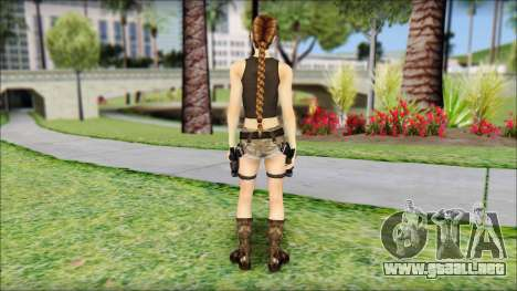 Best Lara Croft para GTA San Andreas segunda pantalla
