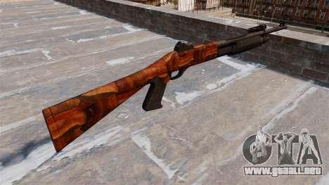 Ружье Benelli M3 Super 90 bacon para GTA 4 segundos de pantalla