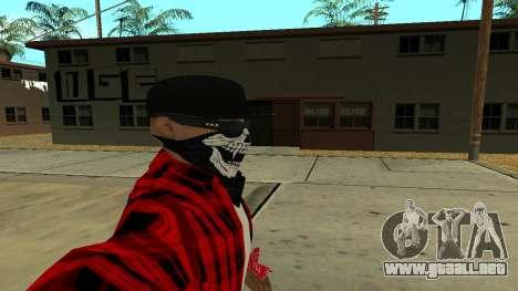 Selfie Mod para GTA San Andreas tercera pantalla