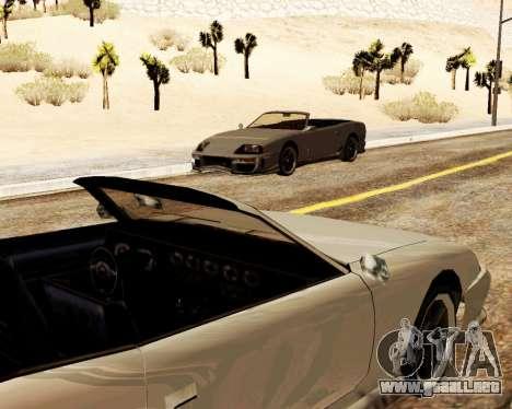 Bufón Convertible para visión interna GTA San Andreas