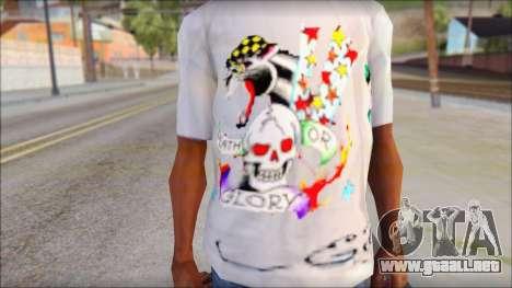 Ed Hardy T-Shirt para GTA San Andreas tercera pantalla