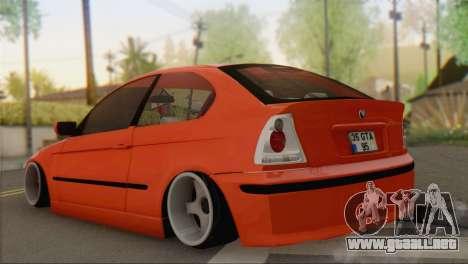 BMW 316i Compact para GTA San Andreas left