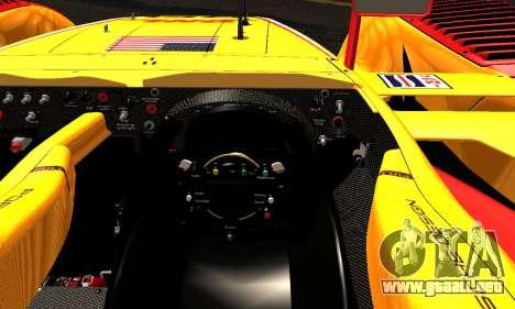 Porsche RS Spyder Evo 2008 para visión interna GTA San Andreas