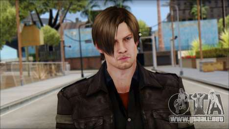 Leon Kennedy from Resident Evil 6 v3 para GTA San Andreas tercera pantalla