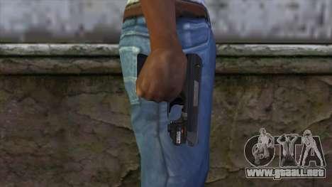VP-70 Pistol from Resident Evil 6 v2 para GTA San Andreas tercera pantalla