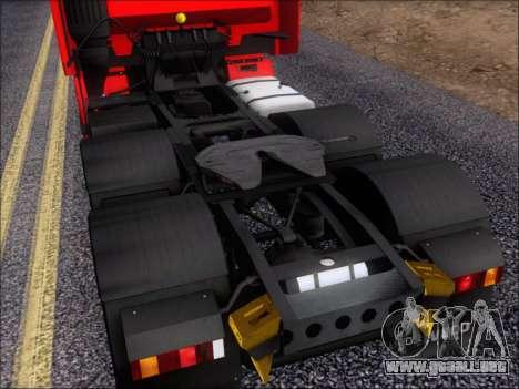 Iveco Stralis HiWay 560 E6 6x4 para vista inferior GTA San Andreas