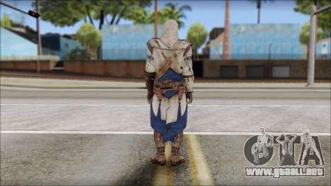 Connor Kenway Assassin Creed III v1 para GTA San Andreas segunda pantalla