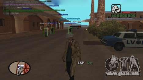 ESP para GTA San Andreas segunda pantalla
