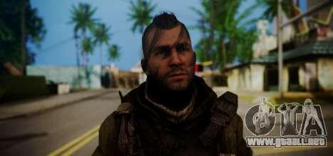 John Soap MacTavish para GTA San Andreas tercera pantalla