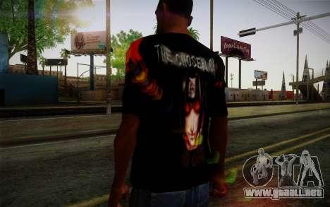 Uchiha Itachi T-Shirt para GTA San Andreas tercera pantalla