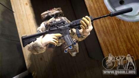 M4A1 V1.1 para GTA 4
