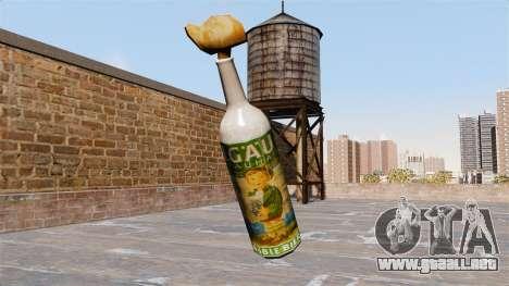 El Cóctel Molotov-Allgauer- para GTA 4 segundos de pantalla