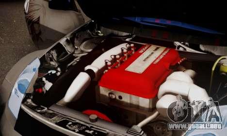 Nissan 350z Angel Beast Itasha Edition para la visión correcta GTA San Andreas