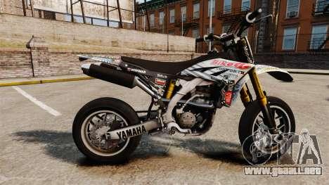 Yamaha YZF-450 v1.10 para GTA 4 left