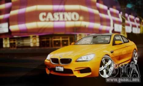 BMW M6 F13 2013 para la visión correcta GTA San Andreas