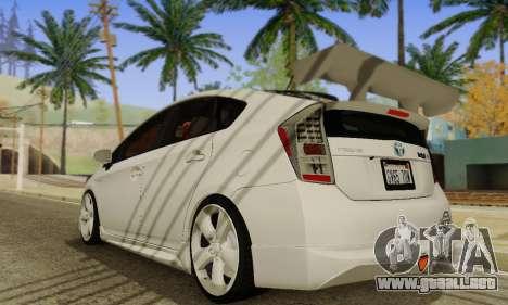 Toyota Prius Tunable para la visión correcta GTA San Andreas