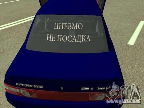 De los FLOREROS 2110 para visión interna GTA San Andreas