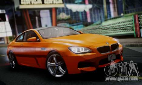 BMW M6 F13 2013 para GTA San Andreas left