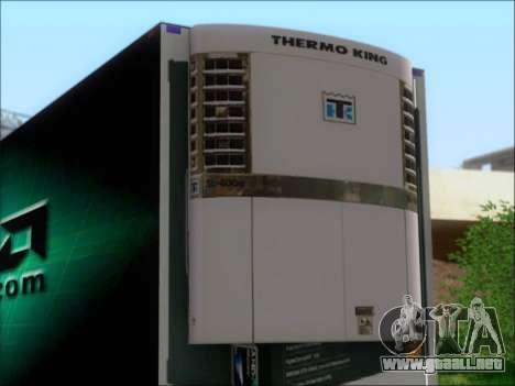 Trailer AMD Phenom X4 para GTA San Andreas vista hacia atrás