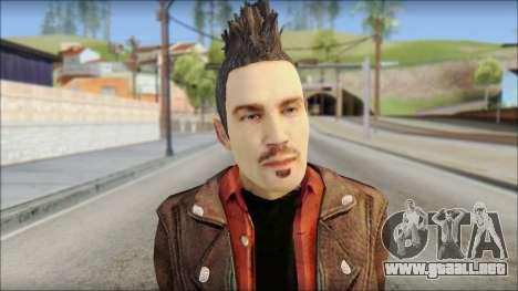 Biker from Avenged Sevenfold 3 para GTA San Andreas tercera pantalla