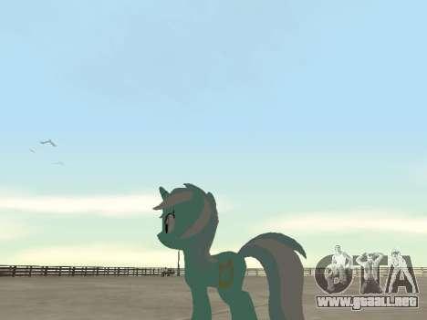 Lyra para GTA San Andreas octavo de pantalla