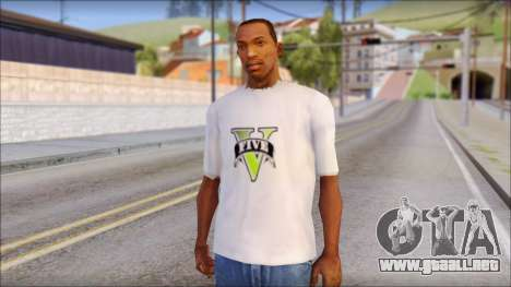 GTA 5 Fan T-Shirt para GTA San Andreas