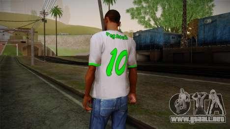 Algerian Football T-Shirt para GTA San Andreas segunda pantalla