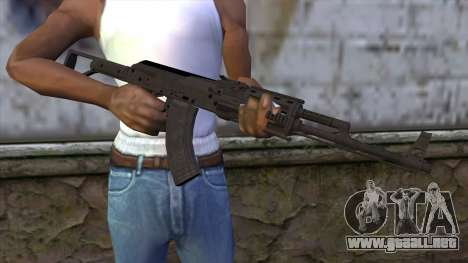 Assault Rifle from GTA 5 v2 para GTA San Andreas tercera pantalla