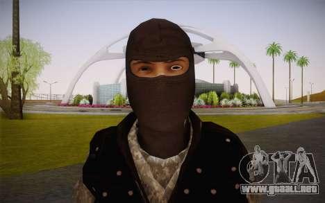 Fuerzas Especiales para GTA San Andreas tercera pantalla