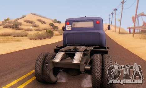 ZIL V para la visión correcta GTA San Andreas