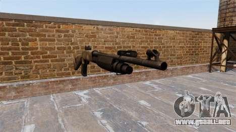 Ружье Benelli M3 Super 90 un tac au para GTA 4