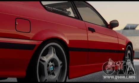 BMW M3 E36 1994 para visión interna GTA San Andreas