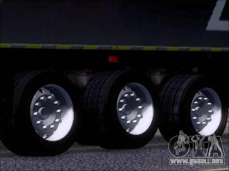 Trailer Chereau Coca-Cola Zero Camión para vista lateral GTA San Andreas