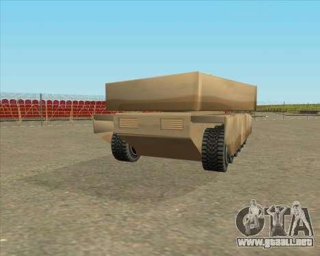 Dozuda.s Primary Tank (Rhino Export tp.) para GTA San Andreas left