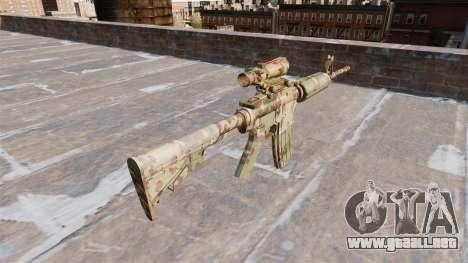 Automático de la carabina, PERO la Guerrilla de  para GTA 4 segundos de pantalla