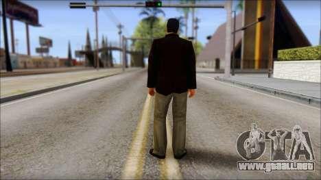 Toni Cipriani v2 para GTA San Andreas segunda pantalla