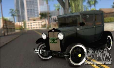 Ford T 1927 para GTA San Andreas