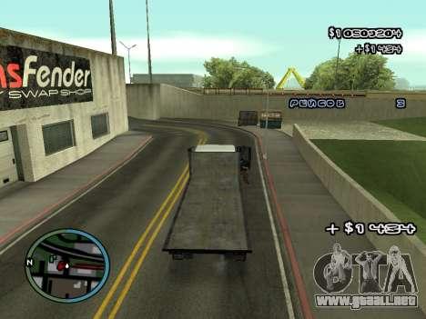 Evacuador de v1.0 para GTA San Andreas séptima pantalla