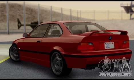 BMW M3 E36 1994 para la visión correcta GTA San Andreas