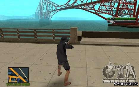 C-HUD by SampHack v.8 para GTA San Andreas segunda pantalla