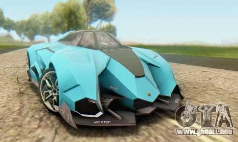 Lamborghini Egoista Concept 2013 para GTA San Andreas