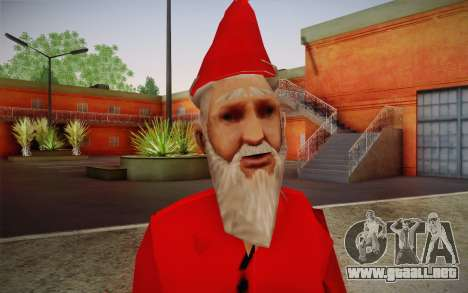 Santa Claus para GTA San Andreas tercera pantalla