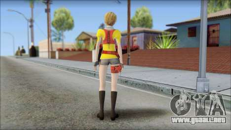 Final Fantasy XIII - Alyssa para GTA San Andreas segunda pantalla