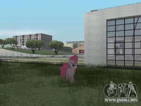 Pinkie Pie para GTA San Andreas séptima pantalla
