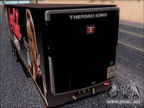Trailer Chereau Coca-Cola Zero Camión para visión interna GTA San Andreas