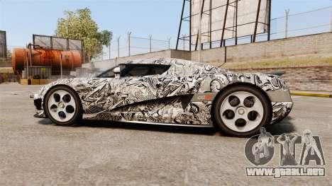 Koenigsegg CCX v1.5 para GTA 4 left
